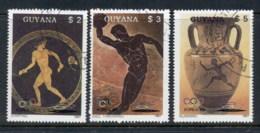 Guyana 1987 Summer Olympics Seoul, Greek Art CTO - Guyana (1966-...)