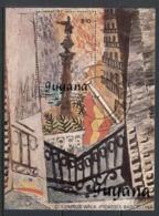Guyana 1990 Paintings, Picasso MS CTO - Guyane (1966-...)