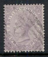 British Honduras 1877-79 4d Violet QV Portrait Wmk Crown CC FU - Ecuador