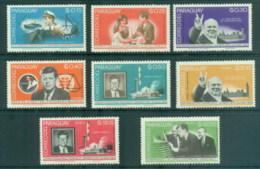Paraguay 1965 JFK, Kennedy, Winston Churchill MLH - Paraguay