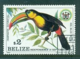 Belize 1981 Bird, Toucan $2 FU - Belize (1973-...)
