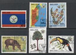 Belize 1981-82 Independence CTO - Belize (1973-...)