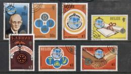 Belize 1981 Rotary International CTO - Belize (1973-...)