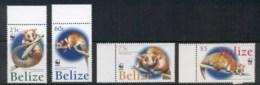 Belize 2004 WWF Wooly Opossum MUH - Belize (1973-...)