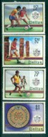 Belize 1986 World Cup Soccer MLH Lot80884 - Belize (1973-...)