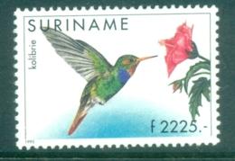 Surinam 1985-95 Birds, Hummingbird MUH - Surinam