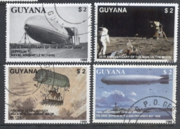 Guyana 1989 Airships, Zeppelin CTO - Guyana (1966-...)