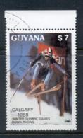 Guyana 1988 Winter Olympics Calgary CTO - Guyana (1966-...)