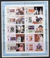 Belize 1985 Commonwealth Omnibus Stamps, Opt Pre-World Cup Soccer Sheetlet MUH - Belize (1973-...)