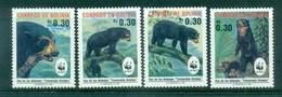 Bolivia 1991 WWF Spectacled Bear MUH Lot76135 - Bolivia