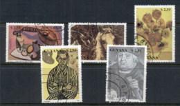 Guyana 1990 Paintings CTO - Guyane (1966-...)