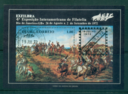 Brazil 1972 Shout Of Independence MS FU Lot36499 - Unclassified