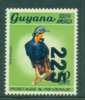 Guyana 1984 Pictorials, Bird 40c Opt Protecting Our Heritage MUH - Guyana (1966-...)