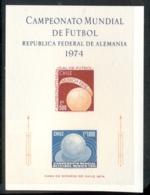 Chile 1974 World Cup Soccer Munich MS MUH - Ecuador