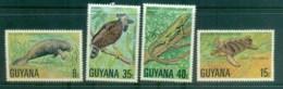 Guyana 1978 Wildlife Protection MLH Lot79376 - Guyana (1966-...)