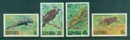 Guyana 1978 Wildlife Protection MLH Lot80915 - Guyana (1966-...)