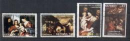 Guyana 1988 Xmas Paintings CTO - Guyana (1966-...)