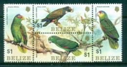 Belize 1984 Birds, Parrots Blk4 MUH - Belize (1973-...)