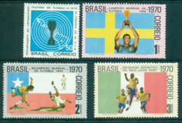 Brazil 1970 World Cup Soccer MUH Lot35760 - Unclassified