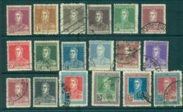 Argentina 1923-31 Wmk RA In Sun (18) FU Lot37114 - Argentina
