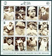 Guyana 1995 Baseball, Babe Ruth MS MUH - Guyana (1966-...)