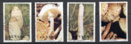 Guyana 1990 Funghi CTO - Guyane (1966-...)