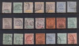 British Guiana 1889-1903 Badge Of Colony Asst. Ship FU - Brits-Guiana (...-1966)