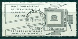 Brazil 1966 UNESCO MS FU Lot36491 - Brazil