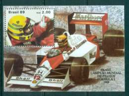 Brazil 1989 Ayrton Senna Formula 1 MS MUH Lot47067 - Brazil