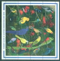Guyana 1990 Tropical Birds Of Guyana Sheetlet MS MUH - Guyana (1966-...)
