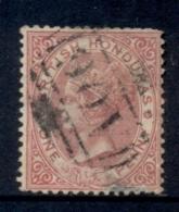British Honduras 1882-87 1d Rose QV Portrait Wmk Crown CA FU - Equateur