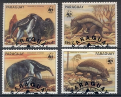 Paraguay 1985 WWF Ant-eating Giants FU - Paraguay