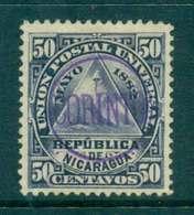 Nicaragua 1882 5c Seal Of Nicaragua Used CORINTO Lot46760 - Nicaragua