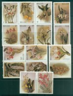 Belize 1987 Orchids Asst MLH Lot80893 - Belize (1973-...)