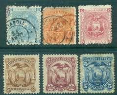 Ecuador 1872 Coat Of Arms FU/MH Lot46578 - Ecuador