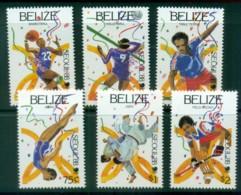 Belize 1988 Seoul Olympics MLH Lot80894 - Belize (1973-...)