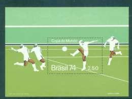 Brazil 1974 World Cup Soccer Munich MS MUH Lot47055 - Brazil