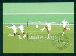 Brazil 1974 World Cup Soccer MS FU Lot36503 - Brazil