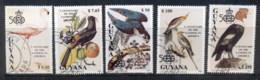 Guyana 1991 Discovery Of America, Birds CTO - Guyane (1966-...)