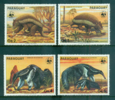 Paraguay 1985 WWF Ant-Eating Giants MUH Lot64089 - Paraguay
