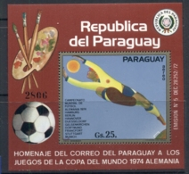 Paraguay 1973 World Cup Soccer Munich MS MUH - Paraguay