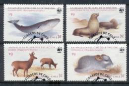 Chile 1985 WWF Endangered Species FU - Equateur
