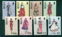 Belize 1986 Wonem In Folk Costumes MLH Lot80878 - Belize (1973-...)
