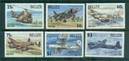 Belize 1993 RAF Anniv, Airplanes MUH Lot81066 - Belize (1973-...)