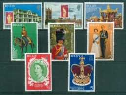 Belize 1978 QEII Coronation, 25th Anniversary , Royalty MUH - Belize (1973-...)