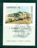 Brazil 1970 LUBRAPEX MS FU Lot36496 - Brazil