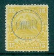 Nicaragua 1882 15c Seal Of Nicaragua Used CORINTO Lot46759 - Nicaragua