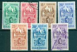 Venezuela 1952 Arms Of Caracas & Buildings(7) MLH/FU Lot46796 - Venezuela
