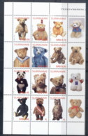 Surinam 2004 100th Birthday Of The Teddy Bear Blk12 MUH - Surinam