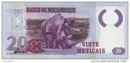 MOZAMBIQUE P. 149 20 M 2011 UNC - Mozambique